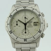Heuer 2000 Chronograph Quartz Steel 272.006-1