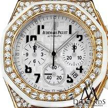 Audemars Piguet Diamond  Royal Oak Offshore Chronograph Watch...