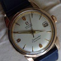 Omega seamaster calendar vintage men's wristwatch 1956