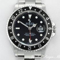 Rolex GMT MASTER II STAHL 16710 T STICK DIAL AUTOMATIK