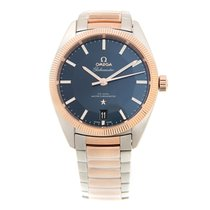 Omega Constellation Gold And Steel Blue Automatic 130.20.39.21...
