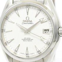 Omega Polished Omega Seamaster Aqua Terra Co-axial Watch...