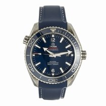 Omega Planet Ocean 600M Co-Axial 45.5MM Titanium Watch...