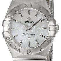 Omega 123.10.24.60.05.001 Constellation Mini Steel Women's...