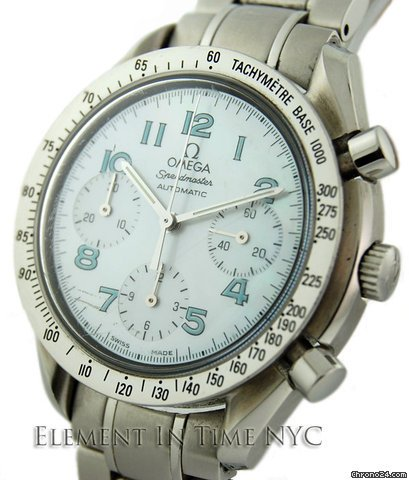 Omega Speedmaster Chrono Mother Of Pearl Dial