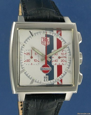 TAG Heuer Monaco Vintage Gulf Chrono Limited Edition --SOLD --