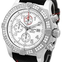 "Breitling ""Diamond Super Avenger Chronograph"" Strapwatch."