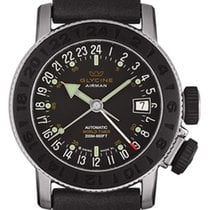 Glycine Airman 18 Sphair Rubber Inlay