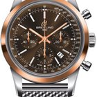 Breitling TRANSOCEAN Chronograph Steel and Gold