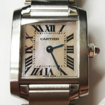 Cartier Tank Francaise Steel MOP Ladies - W51028Q3