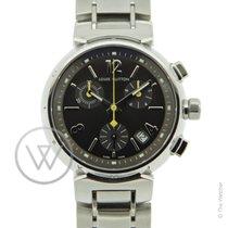 Louis Vuitton Tambour Chronograph Medium - Full Set - Service...