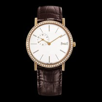 Piaget [NEW] Altiplano White Dial Rose Gold Diamond Ladies...