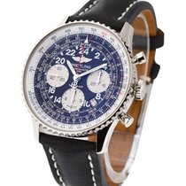 Breitling Navitimer Cosmonaute Flyback Chronograph in Steel