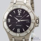 Concord Saratoga Stainless Steel with Black Dial 37mm Men's Watch