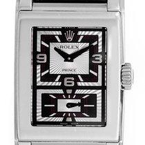 Rolex Cellini Prince 18k White Gold Men's Watch 5443/9