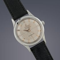 Omega Constellation 'De-Luxe' steel automatic