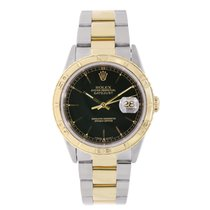 Rolex DATEJUST 36mm Turn-O-Graph Steel & 18K Yellow Gold 1995