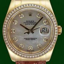 Rolex Datejust 116188 Mother Of Pearl 36mm Gold Diamonds LP 34500