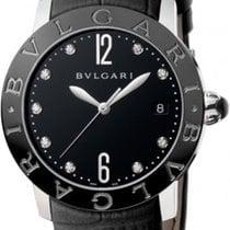 Bulgari Automatic in Black Steel