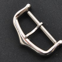 Cartier original solid 18k white gold Tang buckle (inner 18mm)...