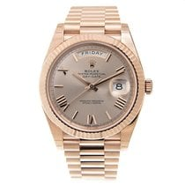 Rolex Day-date 18k Rose Gold Pink Automatic 228235PKRN