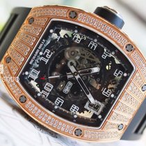 Richard Mille RM010 Rose Gold Mid Set Diamonds