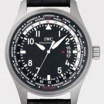 IWC Pilot's Worldtimer 45mm Stainless Steel IW3262-01...