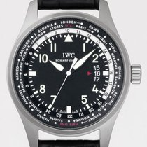 IWC Pilot's Worldtimer 45mm Stainless Steel IW3262-01...