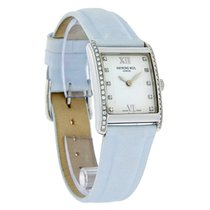 Raymond Weil Don Giovanni Diamond Blue Strap Watch 58731-SLS-0...