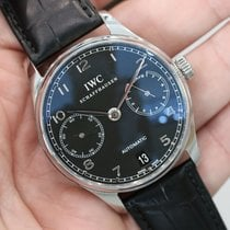 IWC Portuguese Automatic 7 Day Power Reserve Black Iw500109