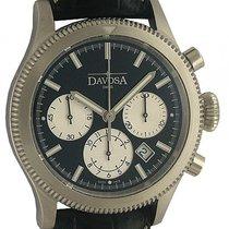 Davosa Business Pilot Stahl Automatik Chronograph 42mm