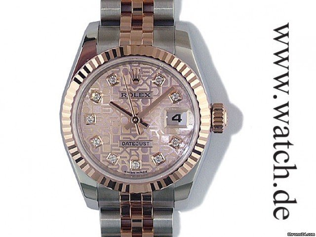 Rolex Datejust 26mm Lady Stahl/Rosgold Diamond
