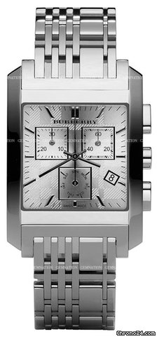 Burberry Square Check Chronograph