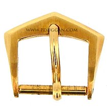 Patek Philippe 18k yellow gold vintage tang buckle
