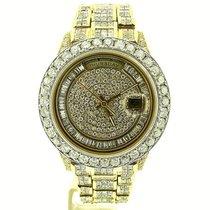 Rolex 18k Gold Day-date President 37ct Full Diamond 18238
