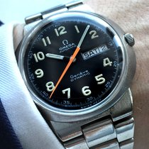 Omega Serviced Omega Geneve Dynamic Automatic black dial day date