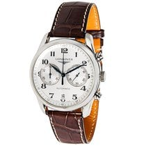 Longines Master Stainless Steel Automatic Chronograph Watch...