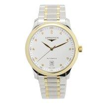 Longines Master 18 K Yellow Gold Silvery White Automatic...