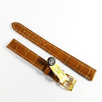 Wempe 13mm brown alligator leather strap Camille Fournet &...