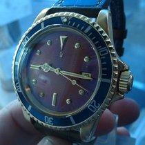 롤렉스 (Rolex) vintage 1970 submariner 1680 solid gold 18 ct RARE...