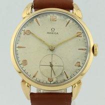 Omega Vintage Chronograph 18k Gold 121897
