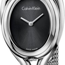 ck Calvin Klein Microbelt K5H23121 Damenarmbanduhr Design...