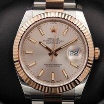 Rolex Datejust 41 - 126331 - Rose Gold - Sundust Index - BASEL...