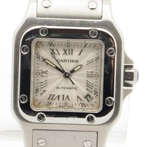 Cartier Santos Stainless Steel Lady's Automatic Watch Ref...