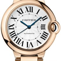 Cartier W69004Z2 Ballon Bleu Ladies 36mm Automatic in Rose...