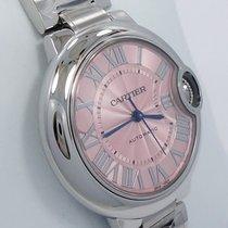 Cartier Ballon Bleu W6920100 33mm Pink Dial Automatic Ladies...