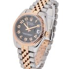 Rolex Mid Size Steel and Rose Gold Datejust - Fluted Bezel -...