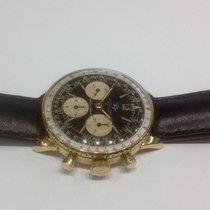 Breitling Navitimer vintage yellow Gold 18k  Gilt Dial Ref.806