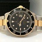 Rolex Submariner Ouro E Aço Completo