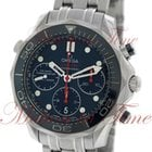 Omega Seamaster Diver 300m Co-Axial Chronograph 42mm, Blue...